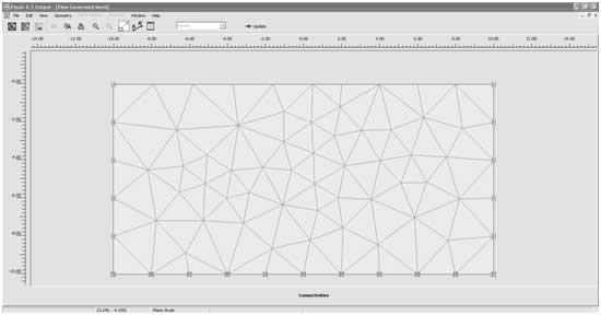 شکل 15- ساخت مش (مش بندی مدل)