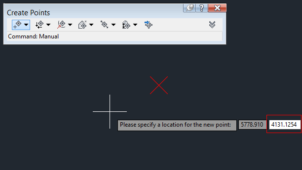کلید Tab را بفشارید برای وارد کردن Y